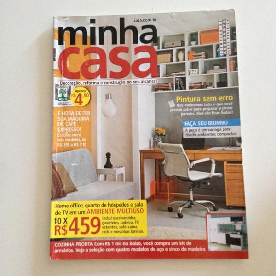 Revista Minha Casa 19 Nov2011 Pintura Sem Erro / Biombo C2