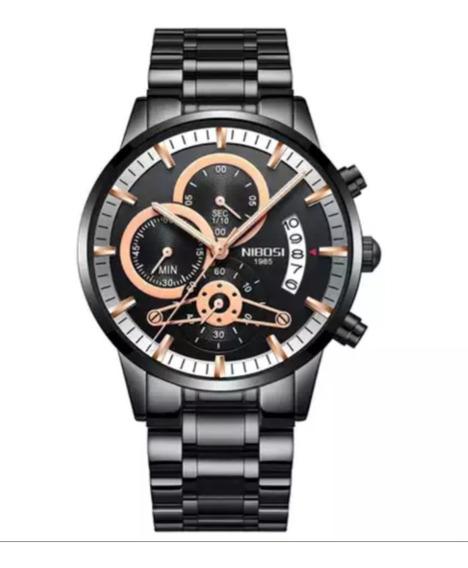Relógio Masculino Nibosi 2309.1 Anti-riscos Luxuoso