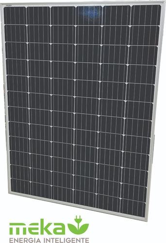 Panel Solar Fotovoltaico Monocristalino Meka 225 W
