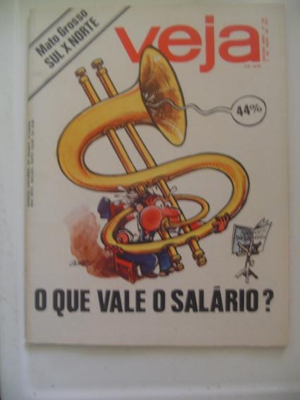 Revista Veja 452 Divisão Do Mato Grosso Arnaldo Prieto 1977