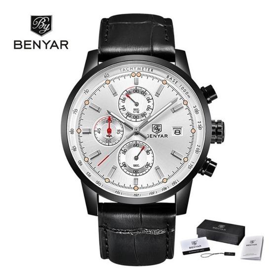 Relógio Benyar Sport Edition 2019 Silver Black