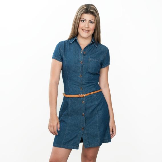 Vestidos Dama Casuales Jean Original De Moda Vilamo Ref 1706