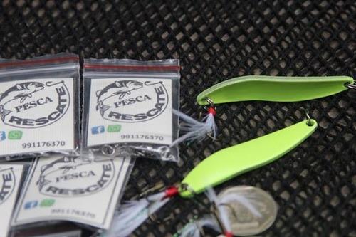 Señuelos De Pesca Chispa Fosforescente De 13gm / 8.5cm
