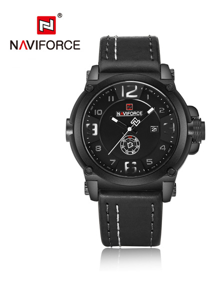 Naviforce Moda Data Quartz Homens Relógios Top Marca De Lux