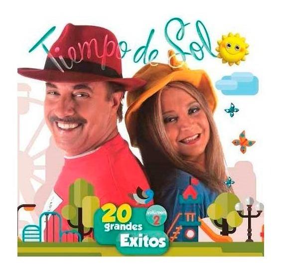 Cd Tiempo De Sol - 20 Grandes Éxitos Vol. 2 - Ya Música!