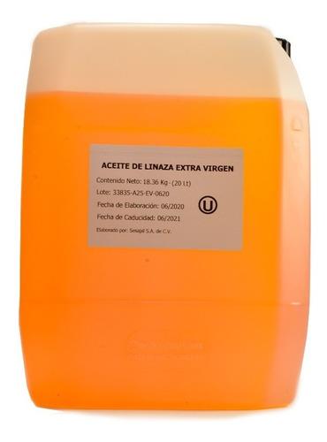 Aceite De Linaza Extra Virgen  Ines   20litros