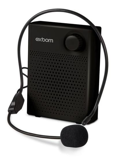 Amplificador Megafone Bluetooth Headset 7w Exbom Cs-b16bt