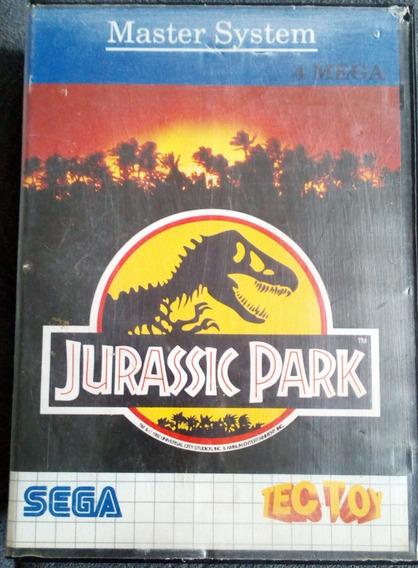 Cartucho Master System Jurassic Park Capa Estojo - Sem Label