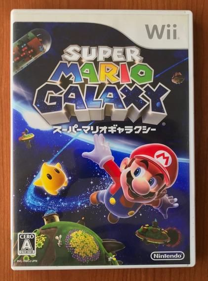 Super Mario Galaxy Japones - Original Nintendo Wii