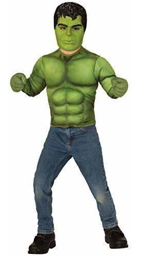 Disfraz De Marvel Avengers Endgame Hulk En Una Caja