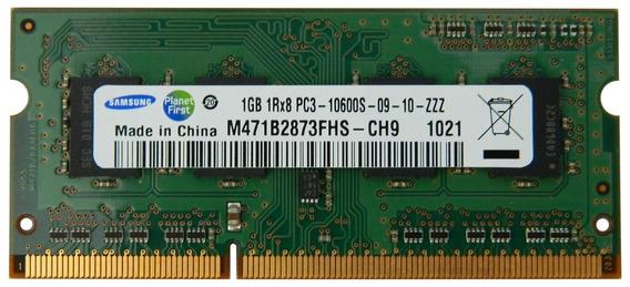 Samsung Ram Laptop 1gb Pc3-10600 Ddr3-1333 M471b2873fhs-ch9