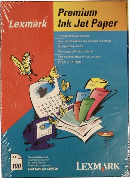 Papel Lexmark A4 Premium Eeuu X100h Alta Calidad E5022