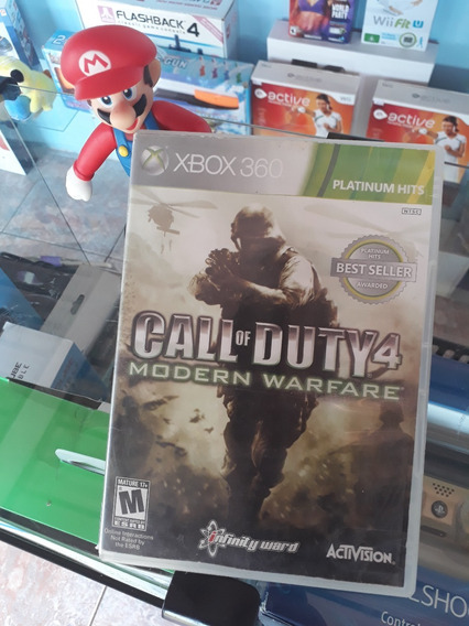 Call Of Duty Modern Warfare 4 Xbox 360 (usado)