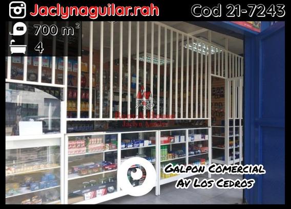 Galpon Comercial En Venta Av Los Cedros Cod 21-7283 Jja