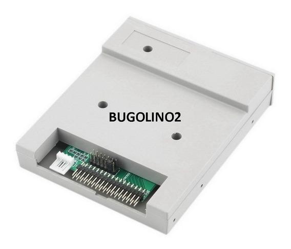 Drive Emulador Disquete 1.44 Pendrive Usb Maquina Pc Branco