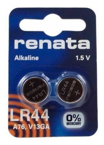 Bateria Alcalina Lr44 Ag13 Original Cartela Com 20 Peças