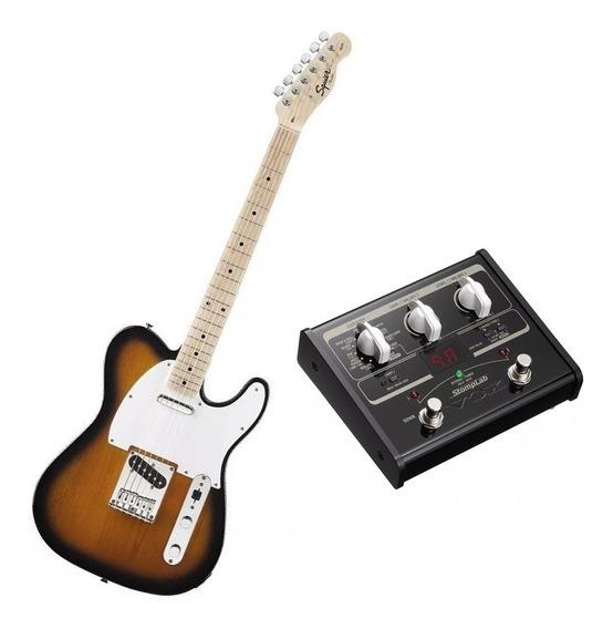 Guitarra Fender Squier Affinity + Pedaleira De Efeito Vox