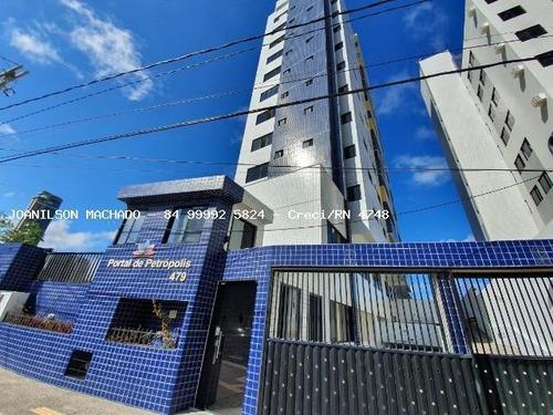 Imagem 1 de 15 de Apartamento Para Venda Em Natal, Petrópolis - Ed. Portal De Petrópolis, 3 Dormitórios, 2 Suítes, 4 Banheiros, 2 Vagas - Ap1532-po_2-1090065