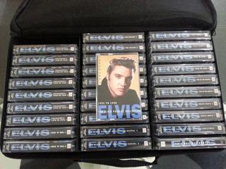 Colección Completa De Elvis Presley En 30 Cassettes