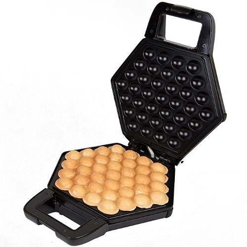 Wafflera Cucina Pro Waffles En Forma De Burbujas Negra