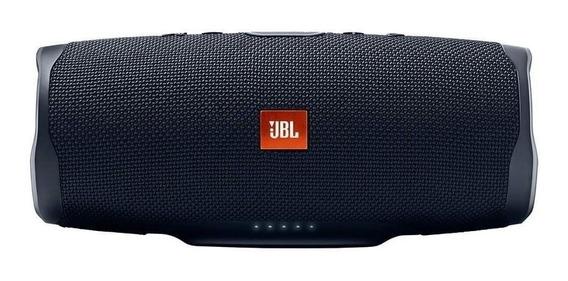 Bocina JBL Charge 4 portátil inalámbrica Black