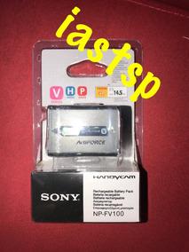 Bateria Sony Np-fv100 Handycam Original Lacrada