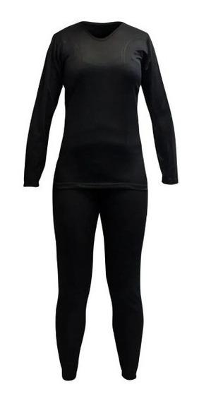 Conjunto Primera Capa Térmica Mujer Cooldry Poliester