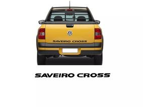 Adesivo Original Saveiro Cross Preto 14/16 5u7853050amy2 (t)