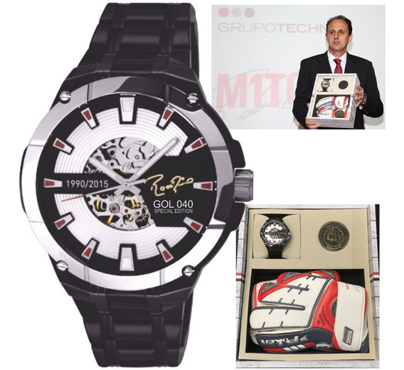Relógio Technos Rogério Ceni Mito Gol 040 Sao8n24aa/040 Nfe