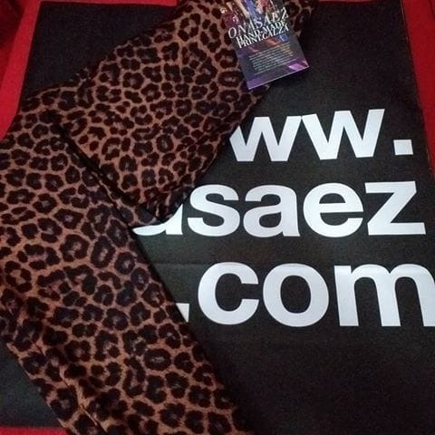 Calza Ona Saez Leopardo