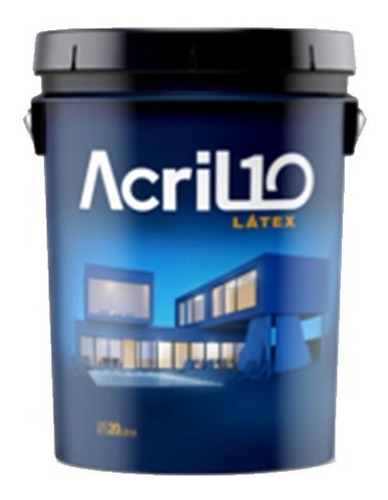 Pintura Latex Acril 10 Int/ext Duracril 10 Lts