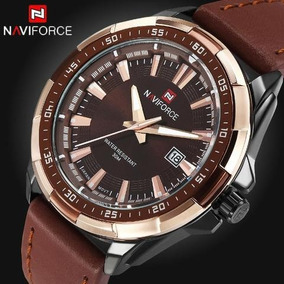 Relógio Masculino Luxo Naviforce Ótimo Para Presente