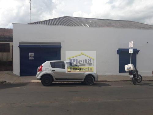 Salão Comercial Para Alugar Com 70 M² - Jardim São Carlos - Sumaré/sp - Sl0868