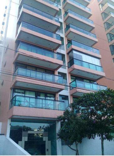 Apartamento Com 3 Dorms, Canto Do Forte, Praia Grande - R$ 380 Mil, Cod: 545 - V545