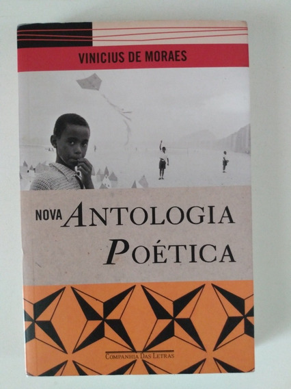 Livro Vinícius De Moraes Antologia Poética