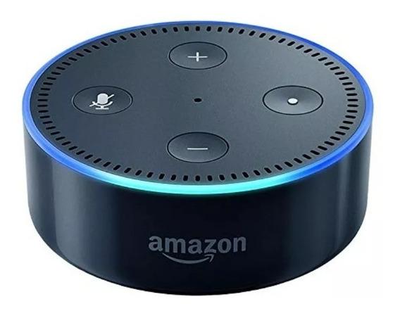 3 Aparelhos Echo Dot Amazon Alexa 2ª Geração - Vitrine Preto