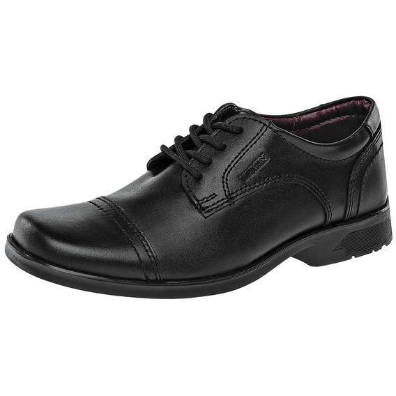 Zapatos Escolares Marca Yuyin De Piel 25032 Dog