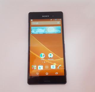 Celular Sony Xperia Z3 Tela 5.2 Usado C/ Detalhe Ver Anúncio