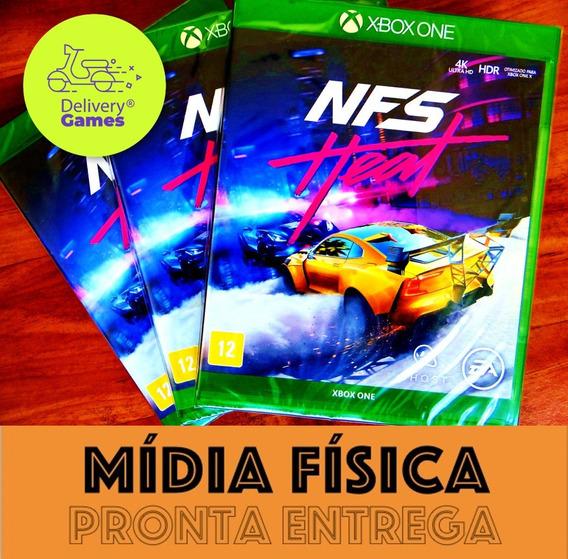 Need For Speed Heat Xbox One Mídia Física Novo Lacrado + Nf