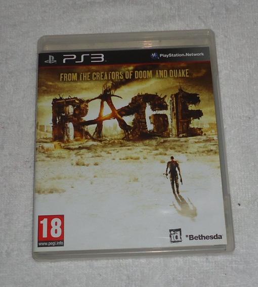 Rage Ps3 ** Frete Grátis Leia