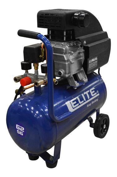 Compresor Elite 2.5 Hp Tanque 25lts 115psi 110v -7.5 Amp