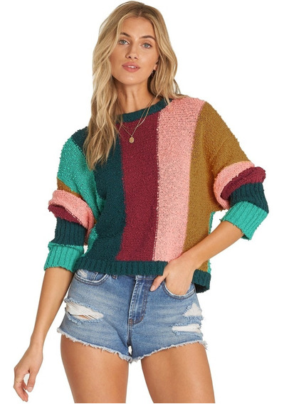 Sweater Billabong Easy Going Mujer Jv05tbea