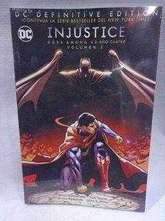 Injustice Gods Among Us: Año 4 Vol.2 Dc Definitive Edition