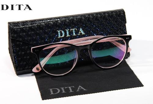 154fdafe5 Armação Grau Feminino Masculino Dt1068 Oculos Original Luxo