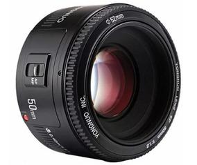 Lente Yongnuo 50mm Yn F1.8 Canon 70d T6i 7d 5d T5i 7d 6d
