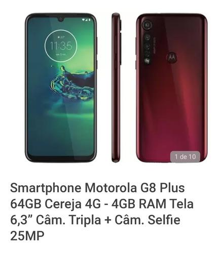 Imagem 1 de 1 de Moto G8 Plus Novo