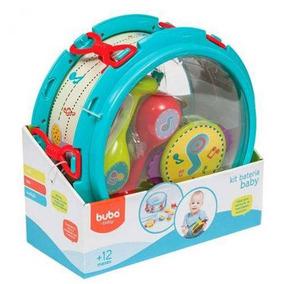 Kit Bateria Infantil Baby - Buba