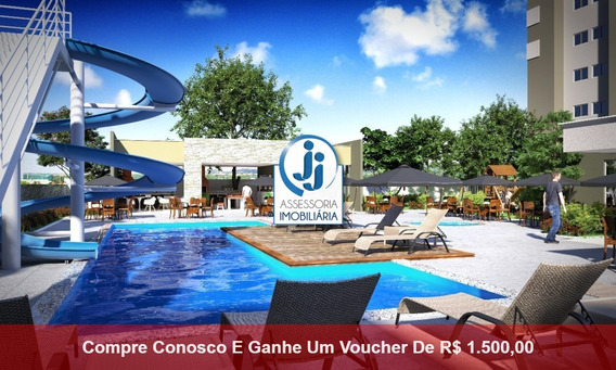 Parque Do Planalto Condomínio Clube - Venda De Apartamento Em Natal, Com 3 Quartos Sendo 1 Suíte, Pelo Programa Minha Casa Minha Vida - Ap14157 - 34442630