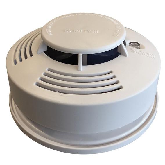 Detector De Humo Bateria 9v Alarma Zurich Sensor De Humo