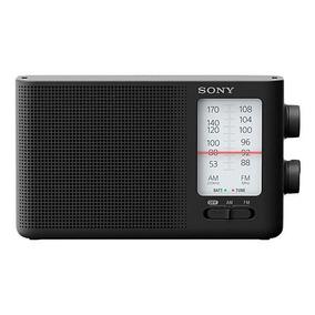 Rádio Sony Icf-19 500mw Bandas Am/fm A Pilha - Preto